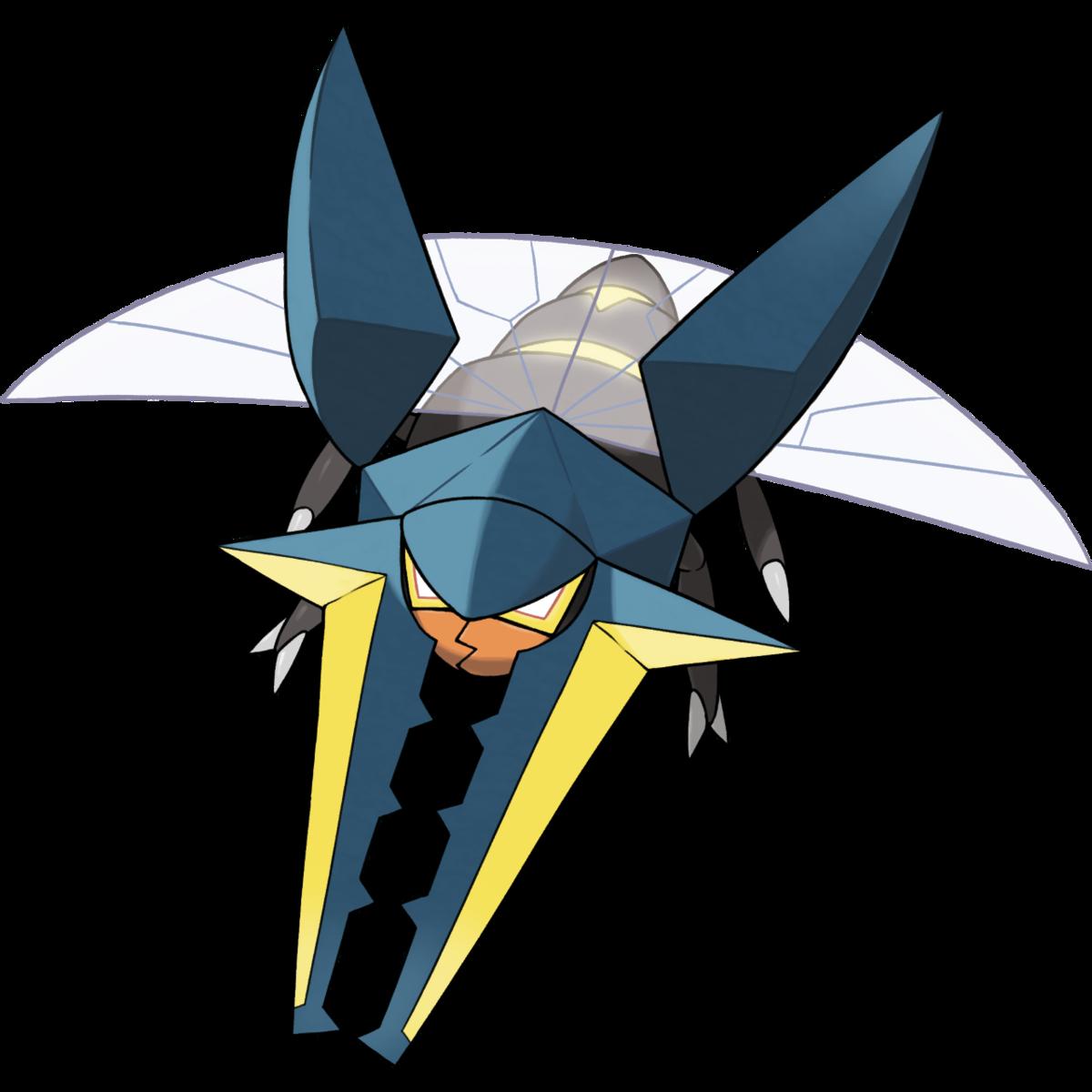 Team up electric pokemon clipart graphic black and white Vikavolt (Pokémon) - Bulbapedia, the community-driven ... graphic black and white
