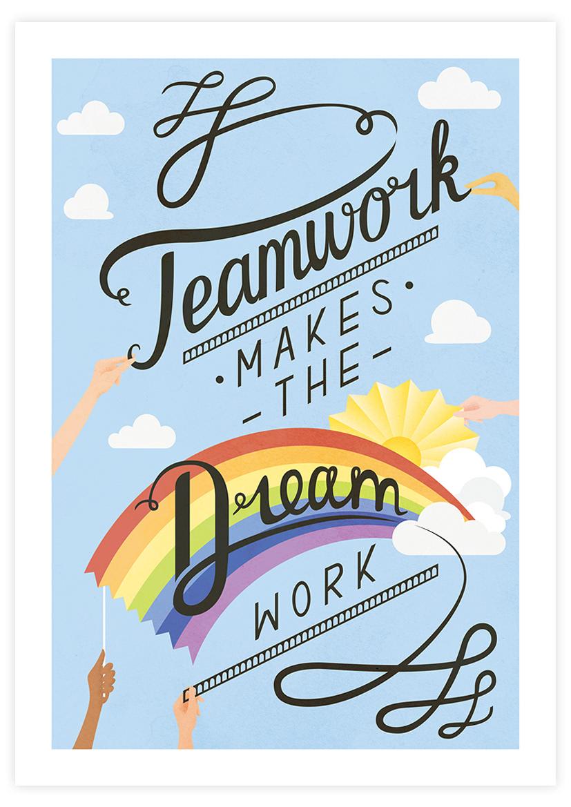 Teamwork make the dreamwork clipart clip art royalty free Ali Clair - Teamwork makes the Dream work clip art royalty free