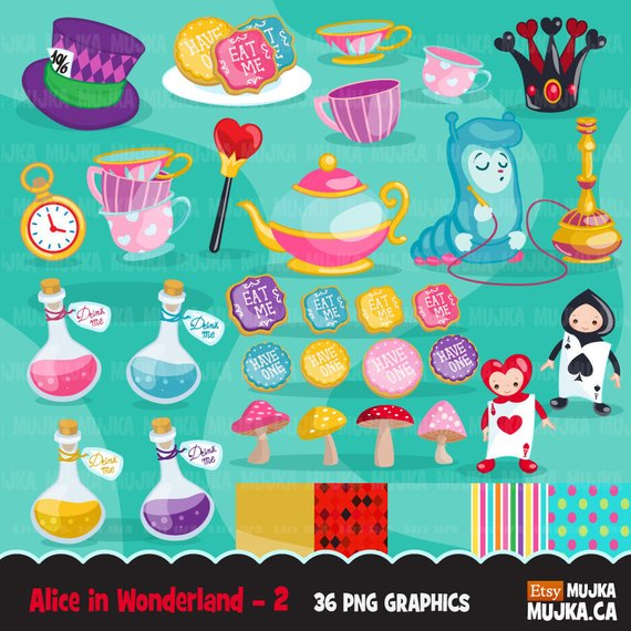 Tean is good for me clipart svg black and white Alice in Wonderland Clipart, Mad Hatter Tea Party Eat Me ... svg black and white