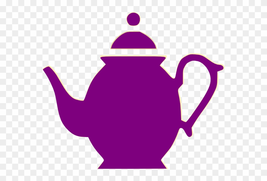 Teapot clipart cartoon svg freeuse Purple Clipart Teapot - Cartoon Pictures Of Teapots - Png ... svg freeuse