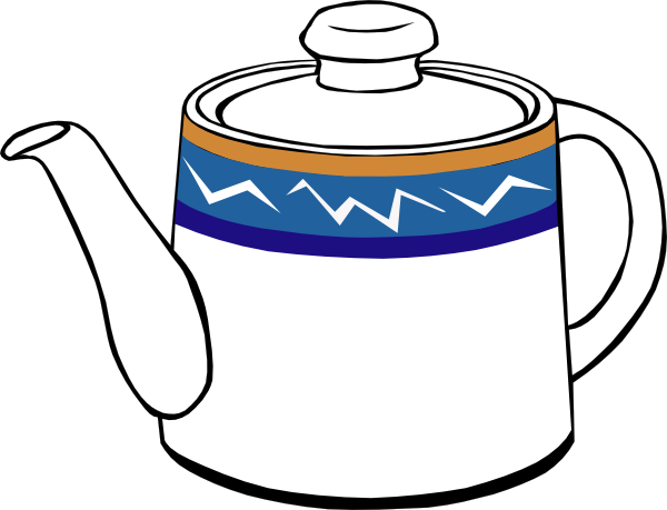 Teapot cliparts image black and white Teapot clip art (113108) Free SVG Download / 4 Vector image black and white