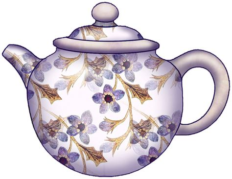Teapot flower pot clipart banner black and white Pinterest banner black and white