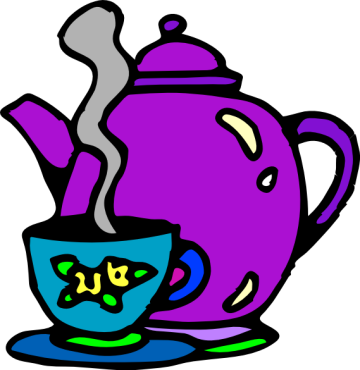Teapot pouring with steam and sun clipart svg free stock Teapot Border Cliparts   Free download best Teapot Border ... svg free stock