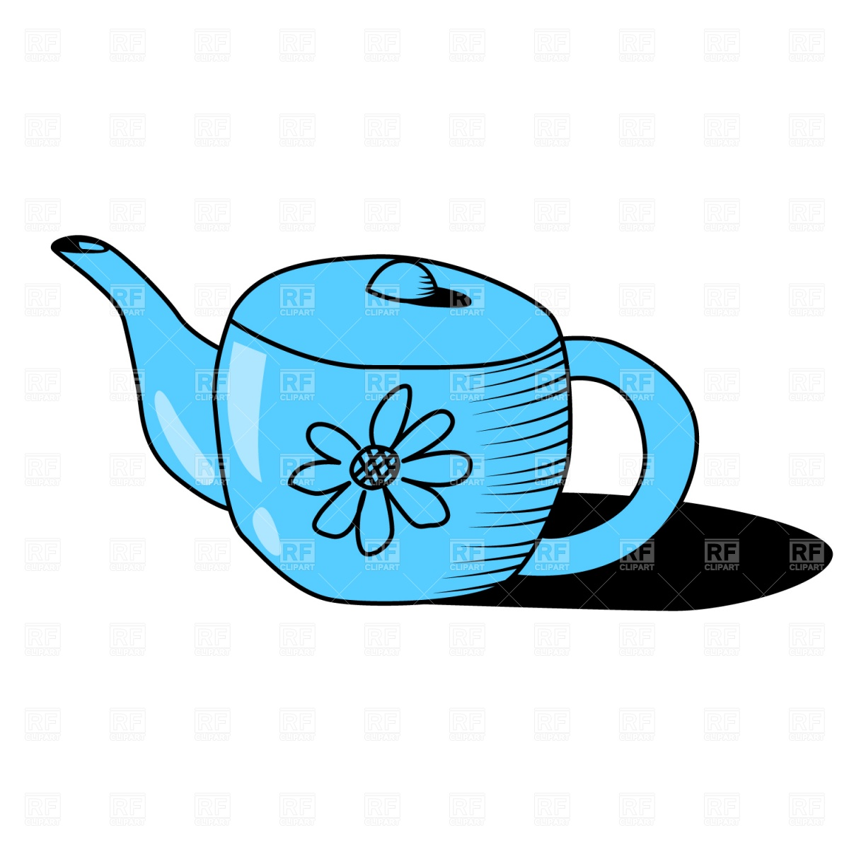 Teapot pouring with steam and sun clipart svg download Teapots Clipart   Free download best Teapots Clipart on ... svg download
