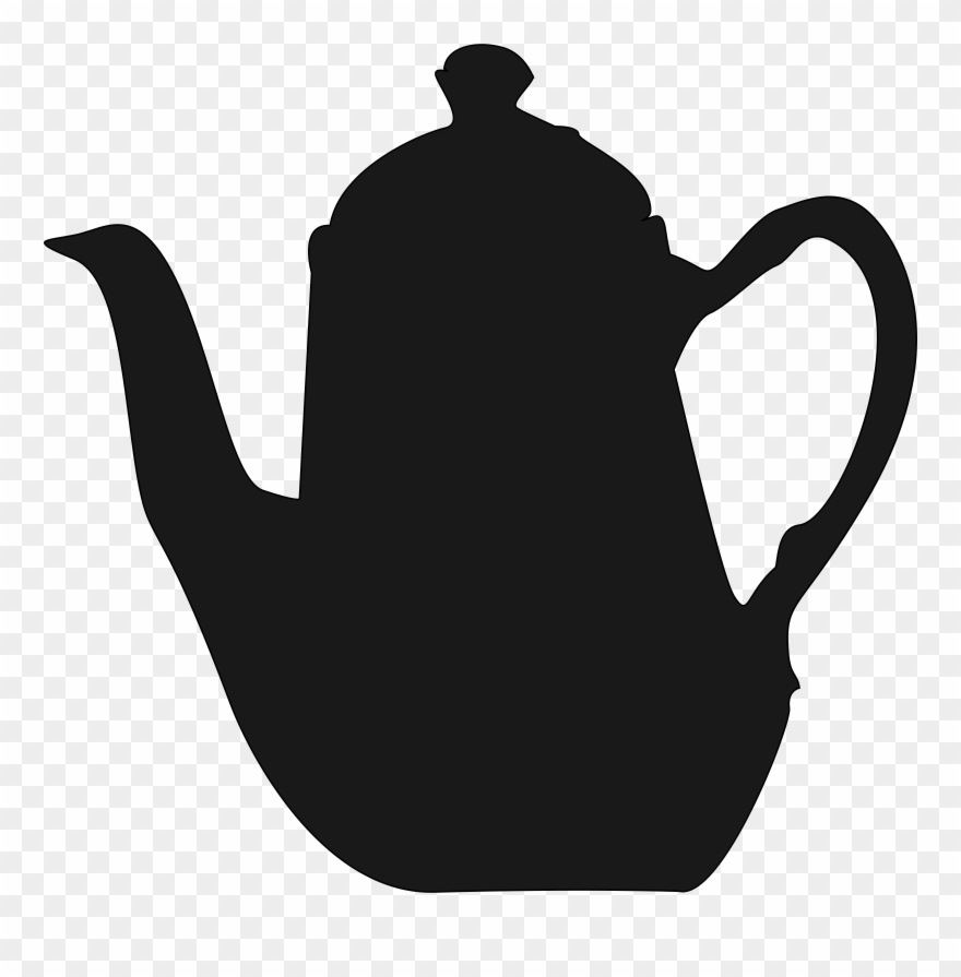 Teapot silhouette clipart png royalty free stock Teapot White Tea Cup Black Tea - Tea Pot Silhouette Png ... png royalty free stock
