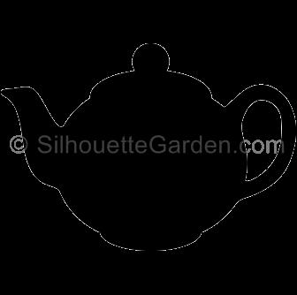 Teapot silhouette clipart clip art freeuse Teapot Silhouette clip art freeuse