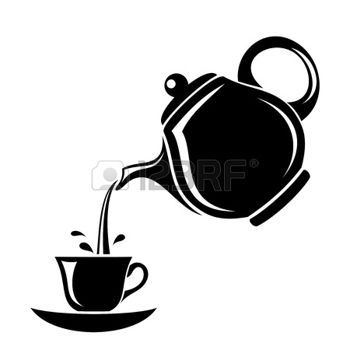 Teapot with cups images clipart clipart freeuse download Stock Vector   To do   Tea pots, Tea cup drawing, Teapots, cups clipart freeuse download