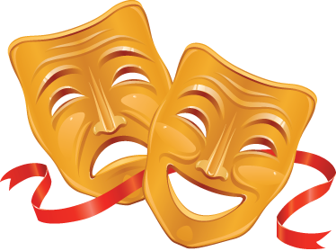 Teatro clipart png stock Mascaras teatro clipart images gallery for free download ... png stock