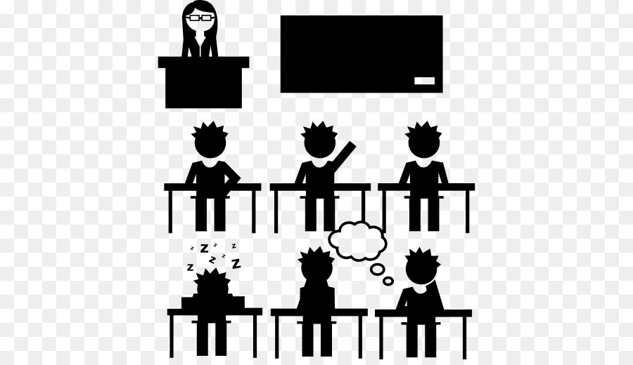 Techers teaching college class clipart jpg freeuse stock School Black And White png download - 512*512 - Free ... jpg freeuse stock