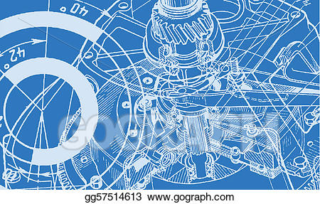 Technical drawing clipart clipart royalty free library Vector Illustration - Technical drawing background. EPS ... clipart royalty free library