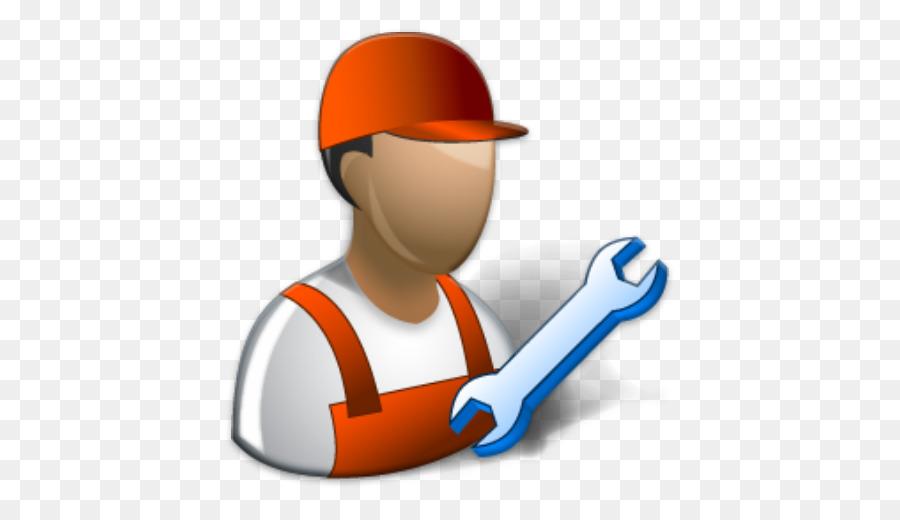 Technician clipart vector download Hat Cartoon clipart - Service, Product, Orange, transparent ... vector download