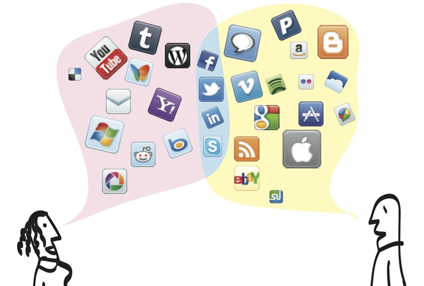 Technology and social media clipart picture transparent library Reading: Introduction to Media and Technology | Sociology picture transparent library