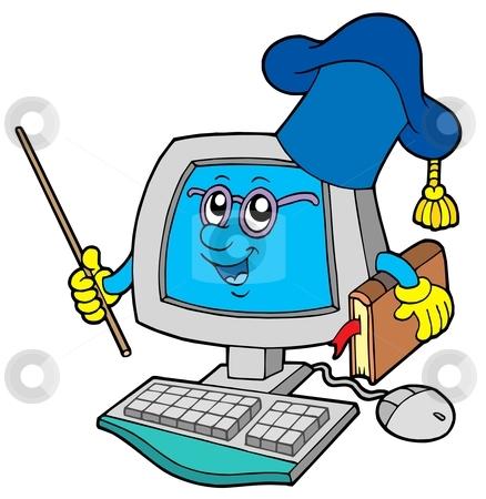 Technology clipart for teachers library Computer Teacher Clipart | Free download best Computer ... library