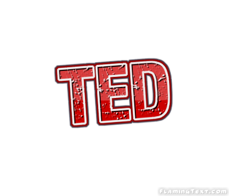 Ted logo clipart jpg free library Ted Logo | Free Name Design Tool from Flaming Text jpg free library