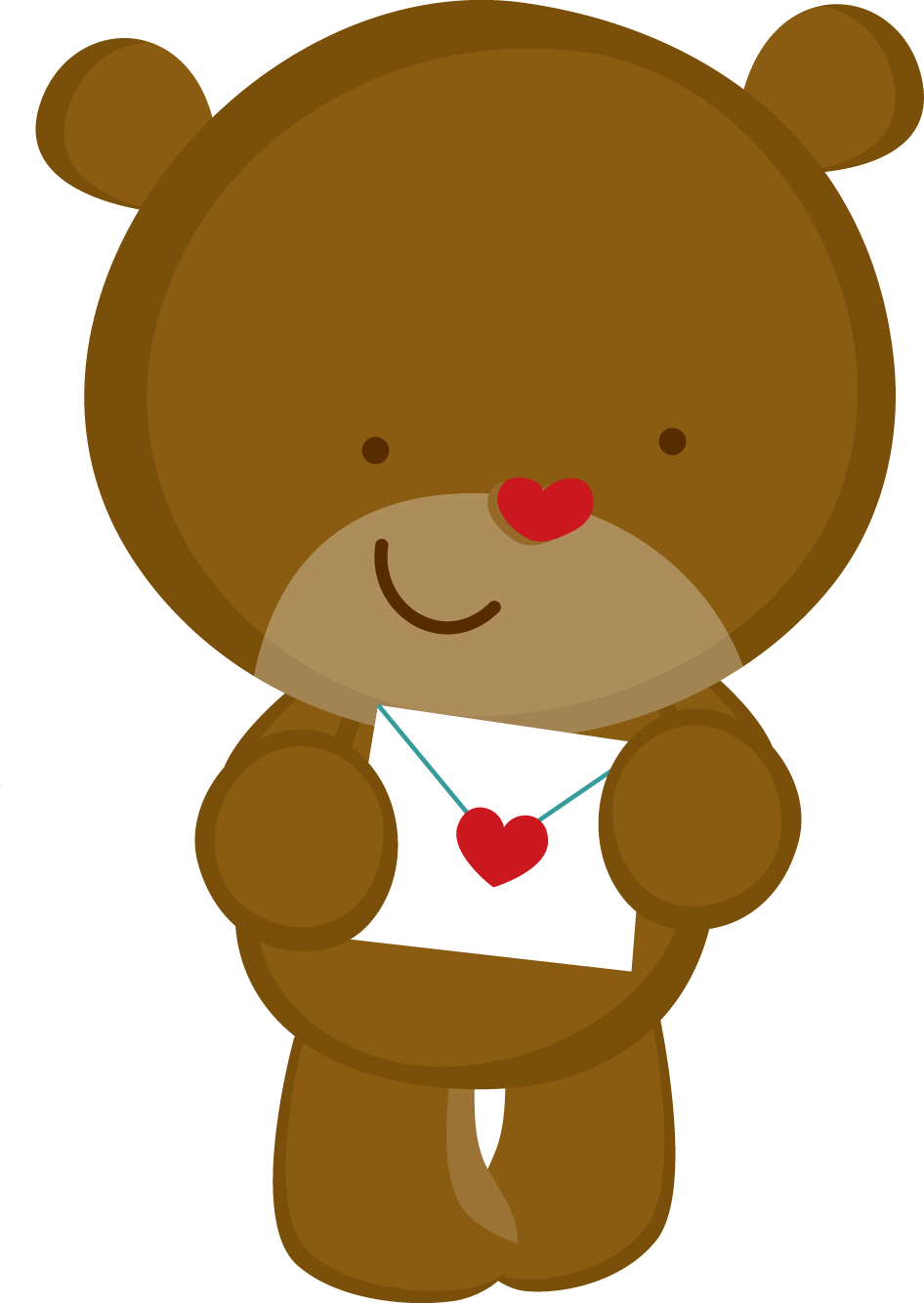Teddy bears and turkey clipart clip art royalty free library ZWD_Valentine_word - ZWD_bear_2.png - Minus | clipart | Pinterest ... clip art royalty free library