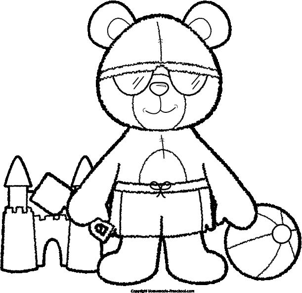 Teddy bear basketball clipart free stock Teddy Bear Clipart free stock
