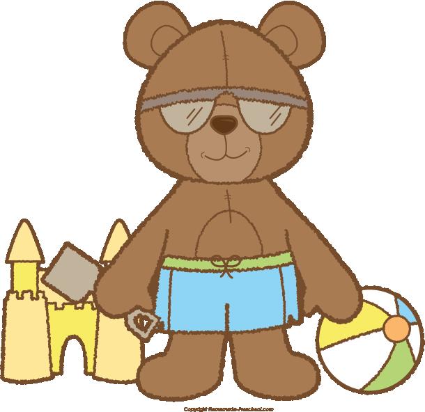 Teddy bear basketball clipart vector royalty free Teddy Bear Clipart vector royalty free