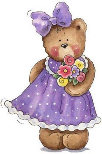 Teddy bear clipart pinterest picture transparent Ursa vestido   Every Day Helpful Tips   Bear clipart, Bear ... picture transparent