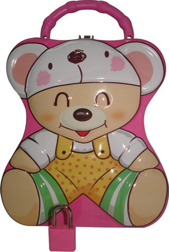 Teddy bear coins clipart banner transparent library SSD Teddy Bear Coin Bank banner transparent library