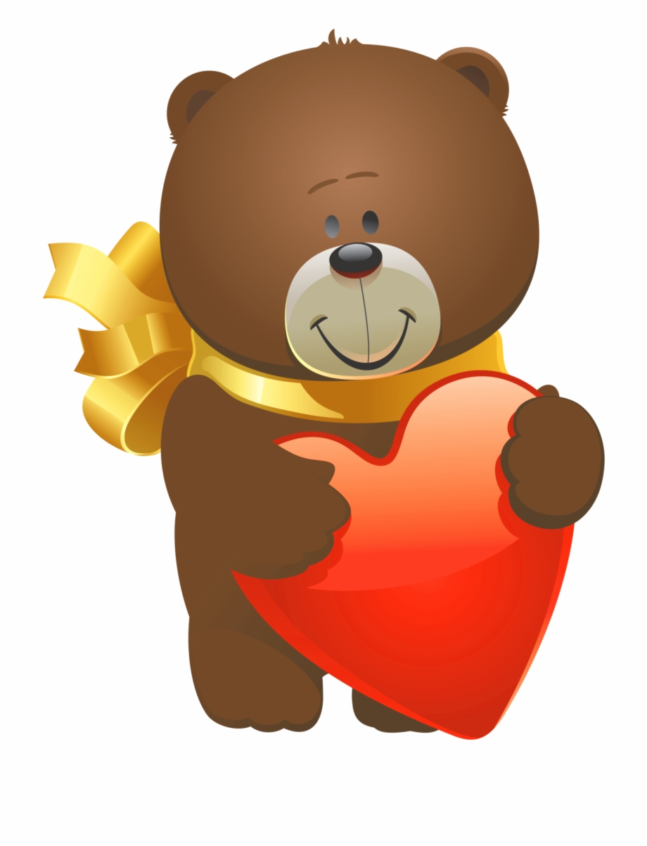 Teddy bear day clipart picture transparent stock Valentine Teddy Bear Png Clipart - Free Clip Art Valentines ... picture transparent stock