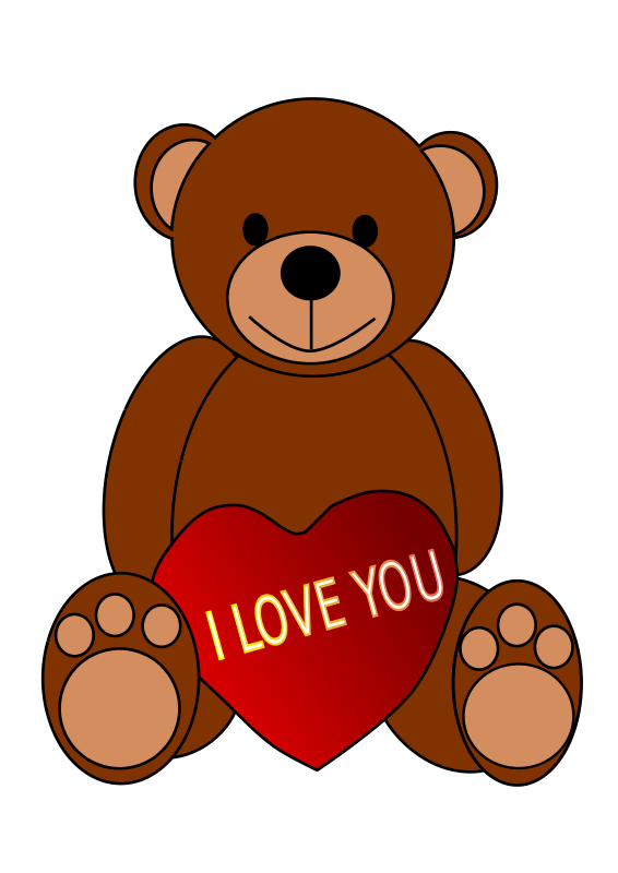 Teddy bears in love clipart graphic transparent download Teddy bear valentines day clipart - Clip Art Library graphic transparent download
