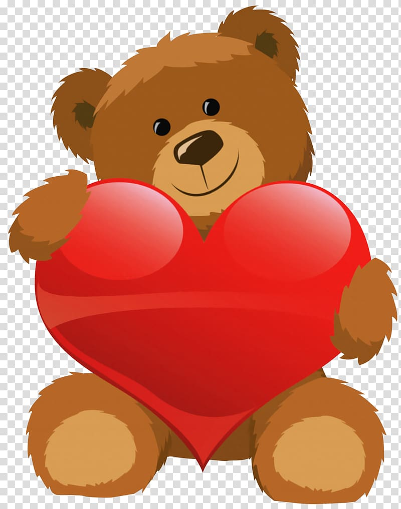 Teddy bears in love clipart clipart royalty free stock Teddy bear Valentine\'s Day Heart , Cute Bear with Heart ... clipart royalty free stock