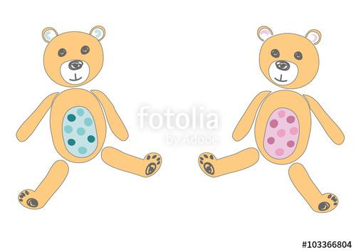 Teddy bear gender reveal clipart png Teddy Bear Baby Reveal Gender Reveal\
