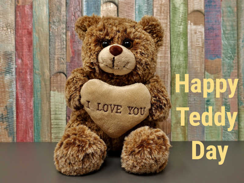 Teddy bear in loving memory background clipart clip art library download Happy Teddy Day 2019: Images, Cards, Greetings, Wishes ... clip art library download