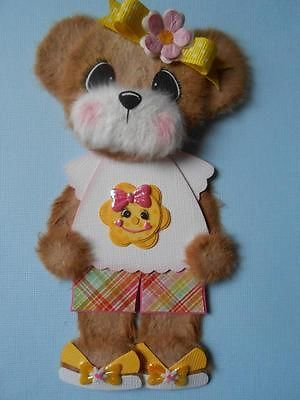Teddy bear paper piecing clipart