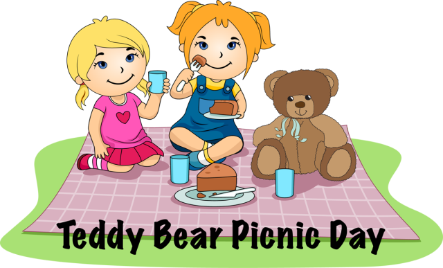 Teddy bear picnic clipart free image library library Download Free png Teddy bear picnic clipart - DLPNG.com image library library