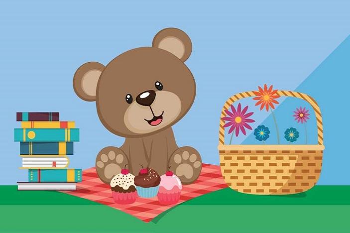 Teddy bear picnic clipart free vector stock Let\'s Go on a Teddy Bear\'s Picnic | Brisbane Kids vector stock