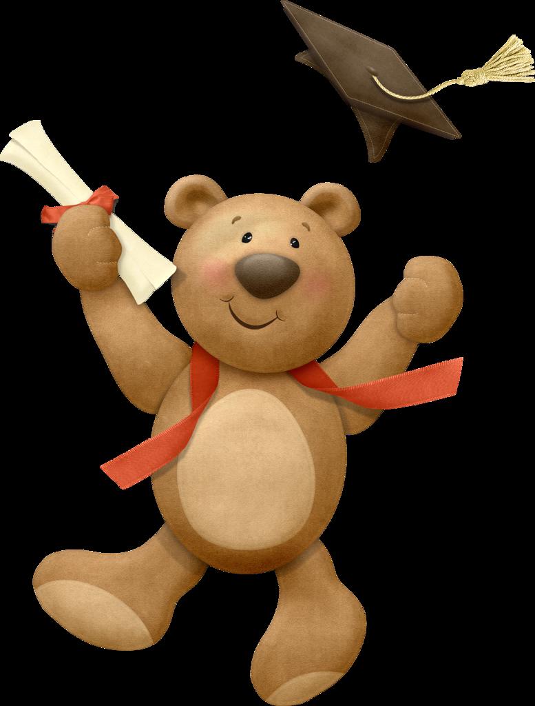 Teddy bear w apple clipart clip freeuse stock GRADUATION TEDDY BEAR | CLIP ART - T. BEARS #1 - CLIPART | Pinterest ... clip freeuse stock