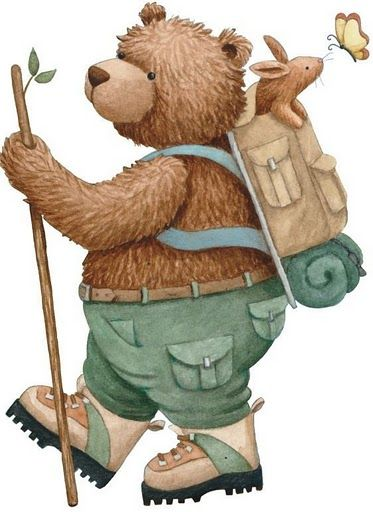 Teddy bear walking clipart picture freeuse stock TEDDY BEAR   CLIP ART - T. BEARS #1 - CLIPART   Teddy bear ... picture freeuse stock