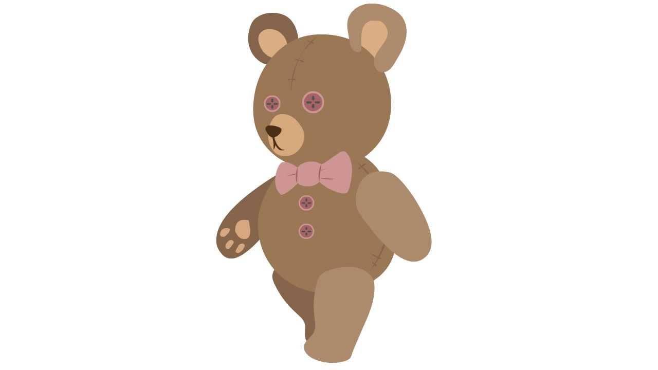 Teddy bear walking clipart png download Teddy Bear Walk Animation png download