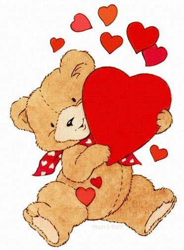 Teddy bears in love clipart vector freeuse stock VALENTINE\'S DAY TEDDY BEAR CLIP ART | TeD E bEaRs | Bear ... vector freeuse stock