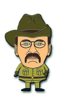 Teddy roosevelt clipart png transparent download Bobblehead Lapel Pin png transparent download