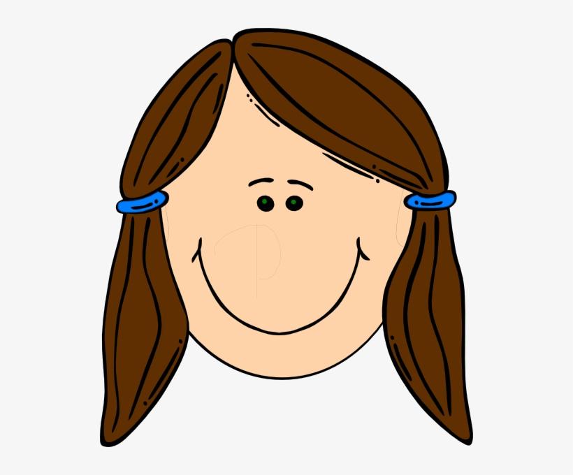 Teen clipart brown haired girl clip stock Teen Boy Brown Hair Clipart - Sad Girl Face Cartoon ... clip stock