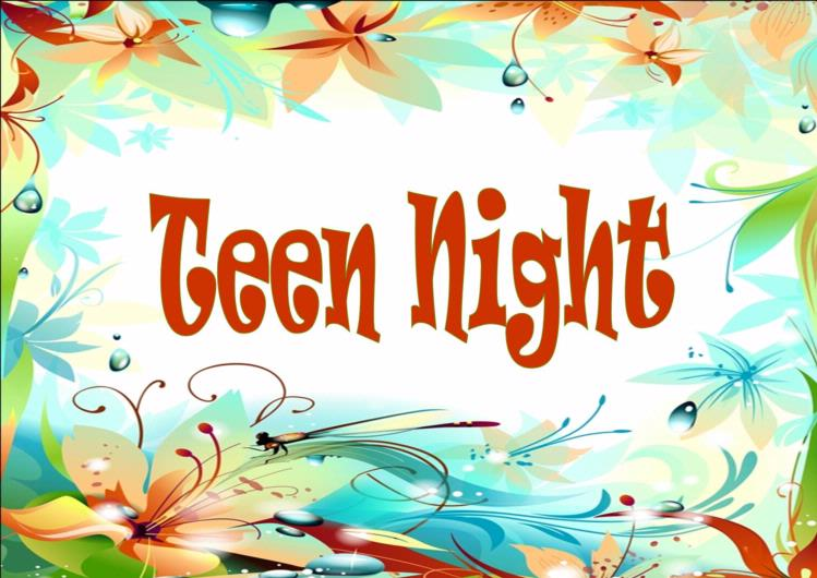 Teen fun night clipart clip freeuse Teen Night | Anderson Mill Limited District | Austin, TX clip freeuse