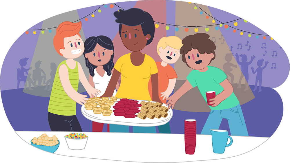 Teen fun night clipart jpg freeuse download Hosting a safe party for teens | Kids Helpline jpg freeuse download