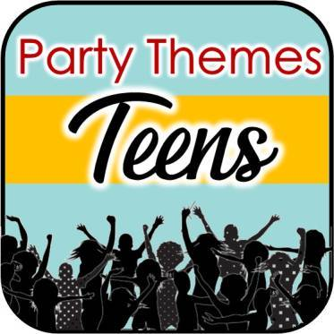 Teen fun night clipart clip art black and white library Ultimate Teenage Party Themes for Your Tween and Teen Party! clip art black and white library