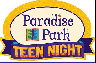 Teen fun night clipart clip transparent library Middle School Teen Night at Paradise Park | Kids Out and ... clip transparent library