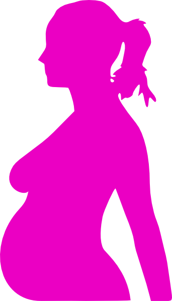 Teen mom clipart image freeuse stock Pregnancy Silhouette 3 Clip Art at Clker.com - vector clip ... image freeuse stock