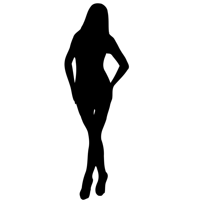 Teenage girl silhouette clipart image royalty free download Free Silhouette Girl Cliparts, Download Free Clip Art, Free ... image royalty free download