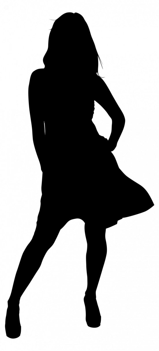 Teenage girl silhouette clipart banner transparent download Free Teenager Silhouette, Download Free Clip Art, Free Clip ... banner transparent download