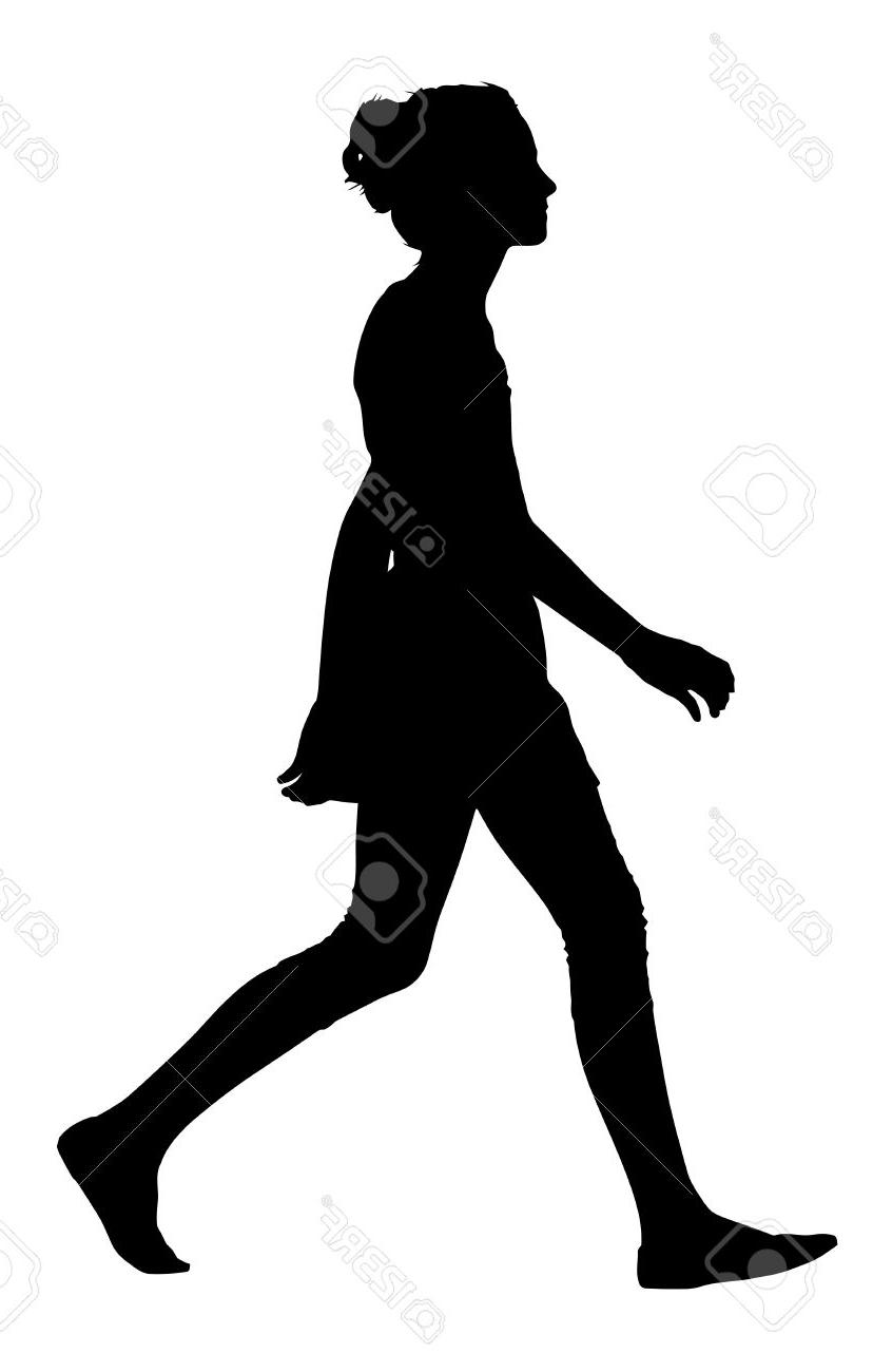 Teenage girl silhouette clipart picture royalty free library Best Teen Girl Silhouette Vector Images » Free Vector Art ... picture royalty free library