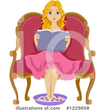 Teenage girl sitting down clipart jpg freeuse Teen Girl Clipart #1229608 - Illustration by BNP Design Studio jpg freeuse
