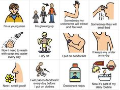 Teenage hygiene clipart picture personal hygiene - Clip Art Library picture
