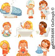 Teenage hygiene clipart royalty free download Taking Shower Clip Art - Royalty Free - GoGraph royalty free download
