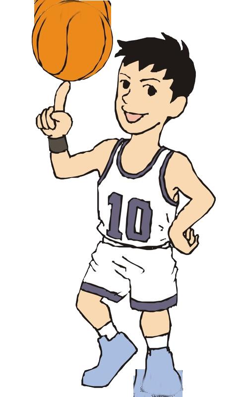 Teenager basketball clipart banner royalty free download Basketball player Sport Cartoon - Teenage basketball player picture ... banner royalty free download