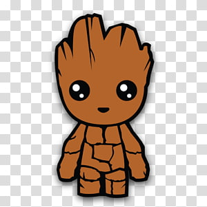 Teenager groot clipart png black and white library Groot transparent background PNG cliparts free download ... png black and white library